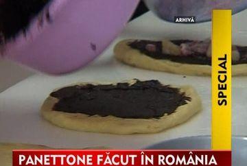 Vom manca celebru cozonac italian, panettone, facut in Romania, la Jucu! VIDEO