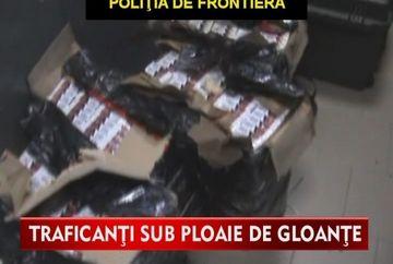 Isi risca viata pentru contrabanda cu tigarete! VIDEO