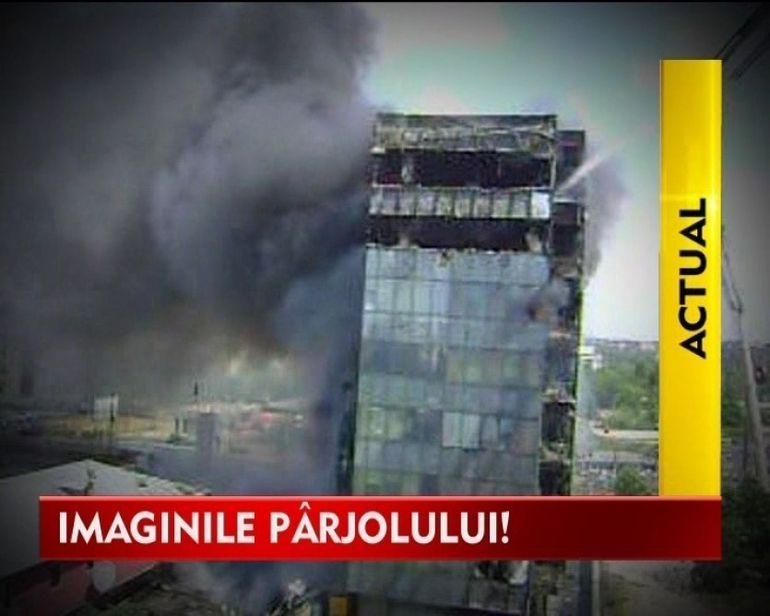 Urmarile incendiului din Cartirul Militari! VIDEO