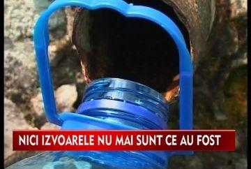 Doua izvoare din Brasov, infestate cu bacterii periculoase VIDEO