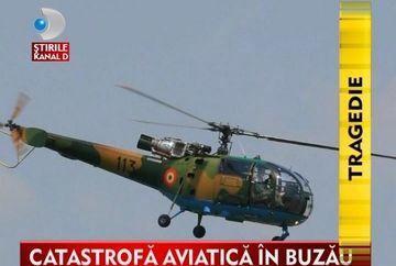 Tragedie in aviatia militara romana! Un elicopter s-a prabusit la Buzau VIDEO
