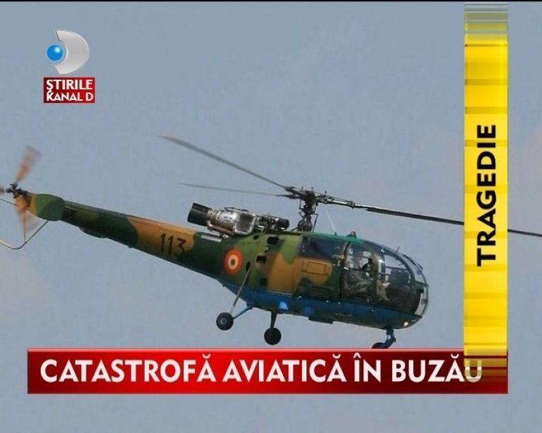 Tragedie in aviatia militara romana! Un elicopter s-a prabusit la Buzau