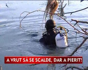 Si-a pierdut viata dupa ce a sarit in apa fara sa stie sa inoate VIDEO