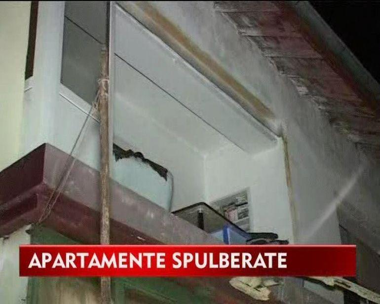 O explozie a aruncat in aer cateva apartamente din judetul Neamt! VIDEO