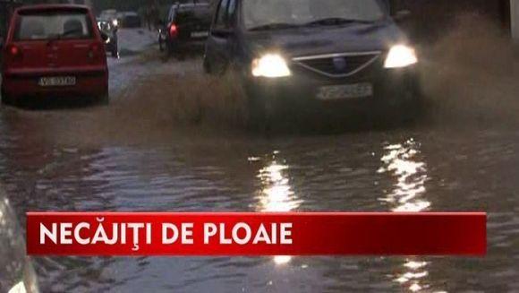 Orasul Vaslui, mica Venetie! Inundatiile au distrus zeci de gospodarii VIDEO