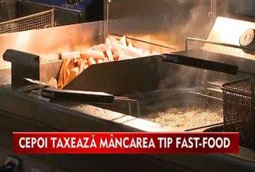 Guvernul vrea taxa pe halba cu bere si fast-foodl! VIDEO