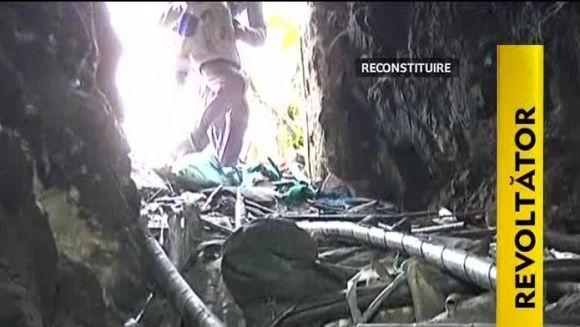 Copilul de trei ani disparut fara urma a fost gasit legat intr-o grota VIDEO