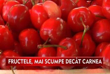 Ciresele, fructe exotice pe piata romaneasca! Nici nu te poti atinge la cat costa VIDEO
