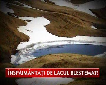 Lacul Vinderelul, blestemul de care se tem localnicii! VIDEO