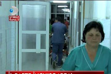 Scandal la spital VIDEO