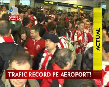 Trafic record pe aeroportul Otopeni VIDEO