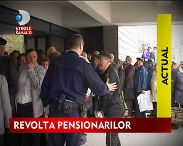 STIREA ZILEI: Pensionarii dau Statul in judecata pentru a-si recupera banii platiti la Sanatate VIDEO