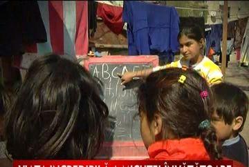 Viata incredibila a micutei invatatoare din Ferentari! VIDEO