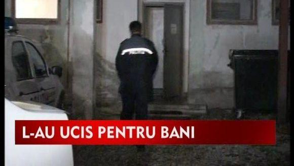 Trei tineri au ucis cu bestialitate un batran pentru bani! VIDEO