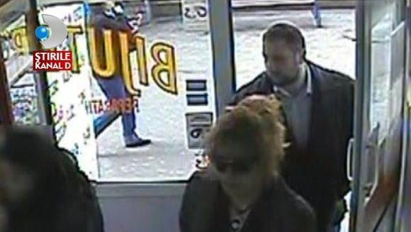 Primele imagini cu hotii care au jefuit o casa de schimb valutar VIDEO
