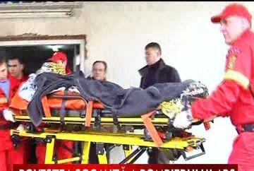 Povestea socanta a pompierului care era sa-si piarda viata pentru a salva victimele exploziei din Sighetul Marmatiei