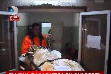 17 muncitori au fost arsi in deflagratia de la Sighet!VIDEO