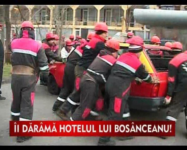 Omul de afaceri George Bosanceanu a rama sfara hotel VIDEO