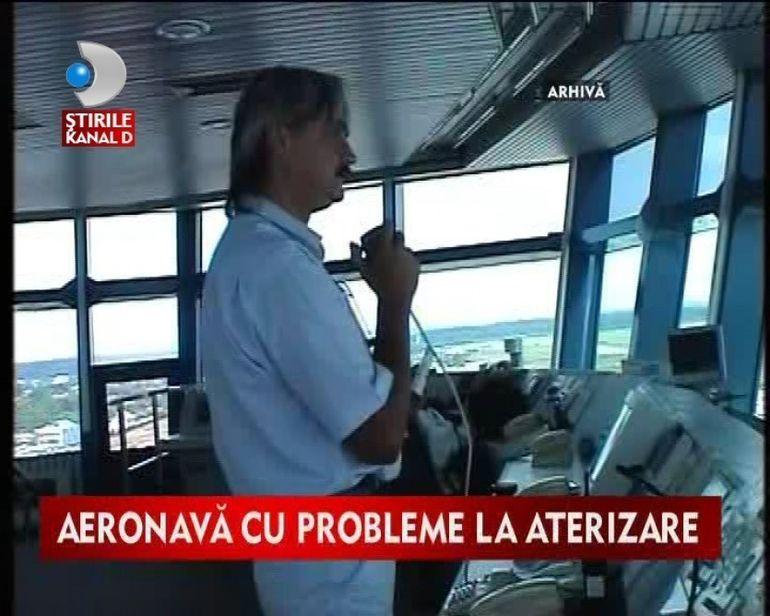 Soc si groaza pentru pasagerii unui avion! Aeronava avea franele defecte.VIDEO