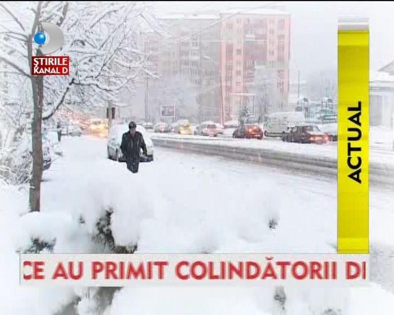 Ninge de Craciun. Afla cum va fi vremea de sarbatori! VIDEO