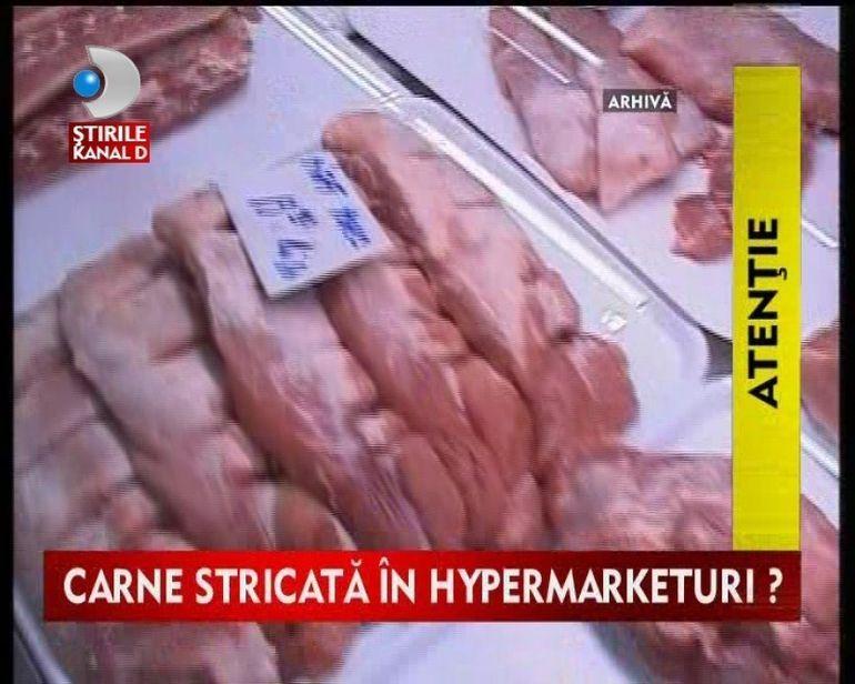 Inspectorii OPC au descoperit sute de kg de carne stricata VIDEO