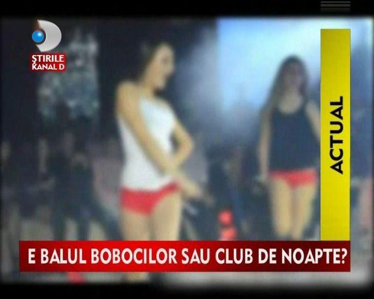 Balul bobocilor s-a transformat in bar de striptease? Vezi imagini INCENDIARE