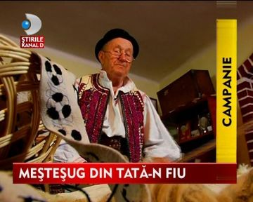 OMUL SFINTESTE TARA: Mesterul cojocar Dumitru Sofonea, declarat monument UNESCO