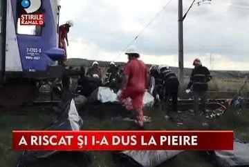 CARNAGIU la Iasi! 11 persoane au murit dupa ce microbuzul in care se aflau a fost lovit de tren