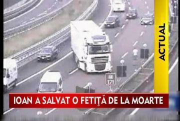 EROUL roman care a salvat o fetita in urma unui accident de pe o autostrada italiana!