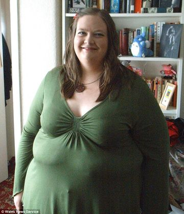 FEMEIA care s-a autointitulat TOMBERON UMAN a dezvaluit cum a slabit peste 100 de kilograme