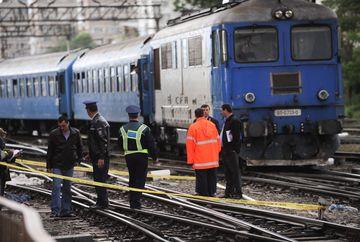 ACCIDENT FEROVIAR la Bistrita Nasaud. Un tren si o drezina s-au ciocnit