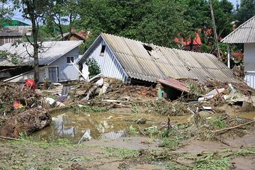 COD GALBEN de inundatii! Vezi ce zone sunt afectate