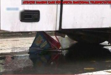 Accident teribil in Navodari! Un microbuz a spulberat o mama cu fetita de mana