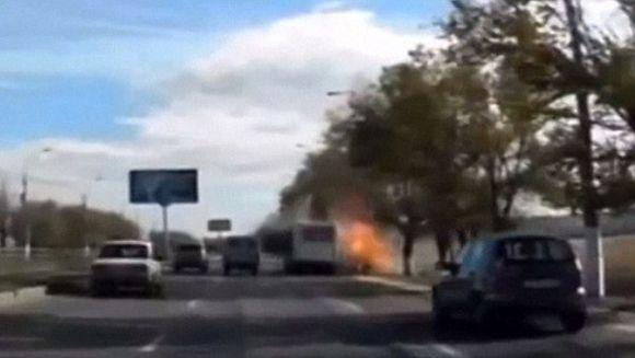 Imagini socante cu o femeie kamikaze din Rusia! A omorat sase persoane si alte 30 au fost ranite intr-un autobuz
