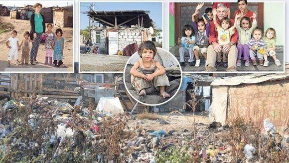 Reportaj de amploare al jurnalistilor de la The Sun: Englezii, din ce in ce mai preocupati de situatia romilor care le invadeaza tara!