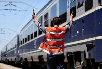 GREVA la CFR:131 de trenuri de calatori au fost oprite in statii!