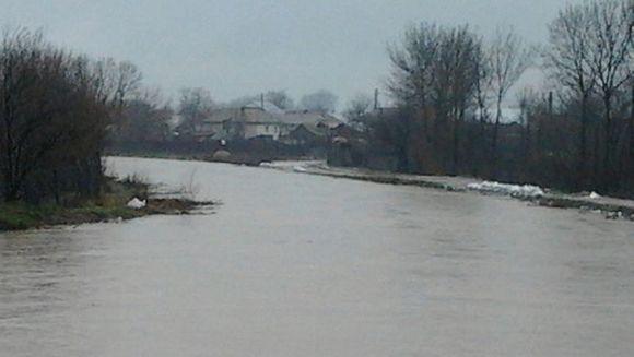 Cod portocaliu de inundatii in Teleorman, cod galben pe rauri din noua judete