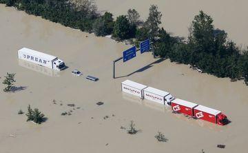 COD PORTOCALIU de inundatii pe Dunare. Vezi care sunt judetele afectate!