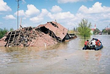 AVERTIZARE hidrologica: COD PORTOCALIU de inundatii! Vezi zonele vizate