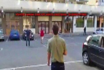 Scene demne de un film de actiune! Mai multi tineri s-au luat la bataie din cauza unei fete