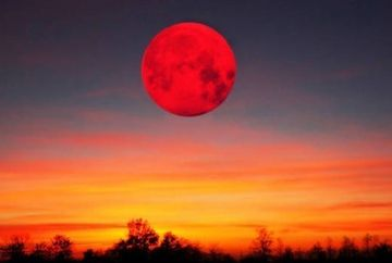 SPECTACOL pe CER. Milioane de oameni vor putea urmari eclipsa totala de Luna, fenomen denumit si Luna sangerie