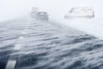 AVERTIZARE METEO: COD GALBEN de ninsori, vant si polei. Vezi zonele vizate