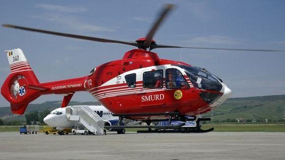 Un elicopter SMURD S-A PRABUSIT in Lacul Siutghiol din judetul Constanta