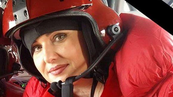 Asistenta care a murit in accidentul aviatic isi anuntase iubitul ca este insarcinata in timp ce era in elicopter