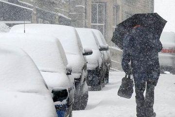 VREME se va inrautati incepand de duminica seara. Meteorologii anunta COD PORTOCALIU de ninsori si viscol. Vezi harta zonelor afectate!