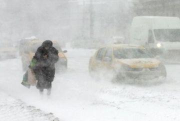 AVERTIZARE METEO: COD GALBEN de ninsori si viscol! Vezi ce zone sunt afectate si de cand revine GERUL