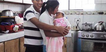 Aceasta este POZA fericirii supreme: Insa ce s-a intamplat dupa trei luni de la nasterea fetitei lor, iti va cutremura sufletul!