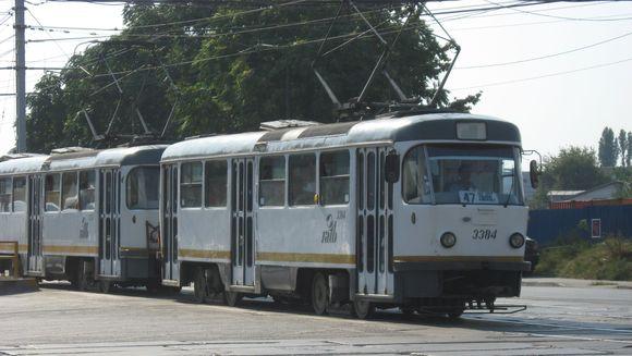 Se opreste circulatia tramvaielor pe Bd. Dinicu Golescu din Capitala. Vezi alternativele de transport in comun!