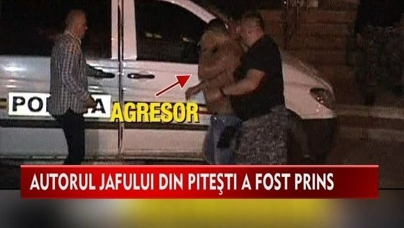 La aproape doua saptamani de la cumplitul atac asupra familiei unui afacerist din Pitesti, politia a retinut un suspect
