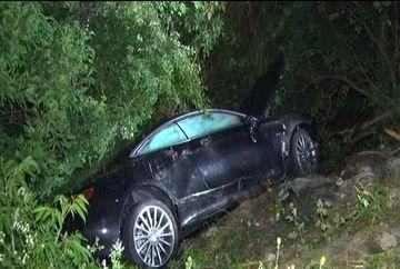 Fiul unuia dintre cei mai bogati oameni din judetul Arges a fost la un pas sa-si piarda viata intr-un accident de masina!